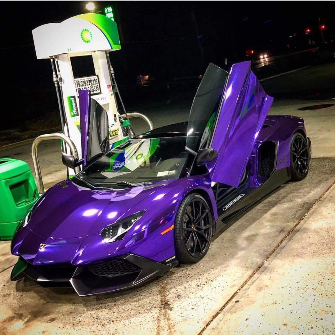 Midnight Snack Dreamexotics Lamborghini Aventador Sv