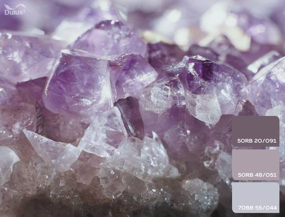 dulux homedecor paint amethyst crystal purple grey