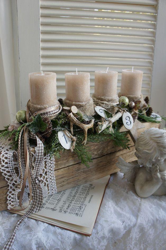 Weihnachtszeit f r alle sinne ein frisch duftenden - Winterlandschaft dekoration ...