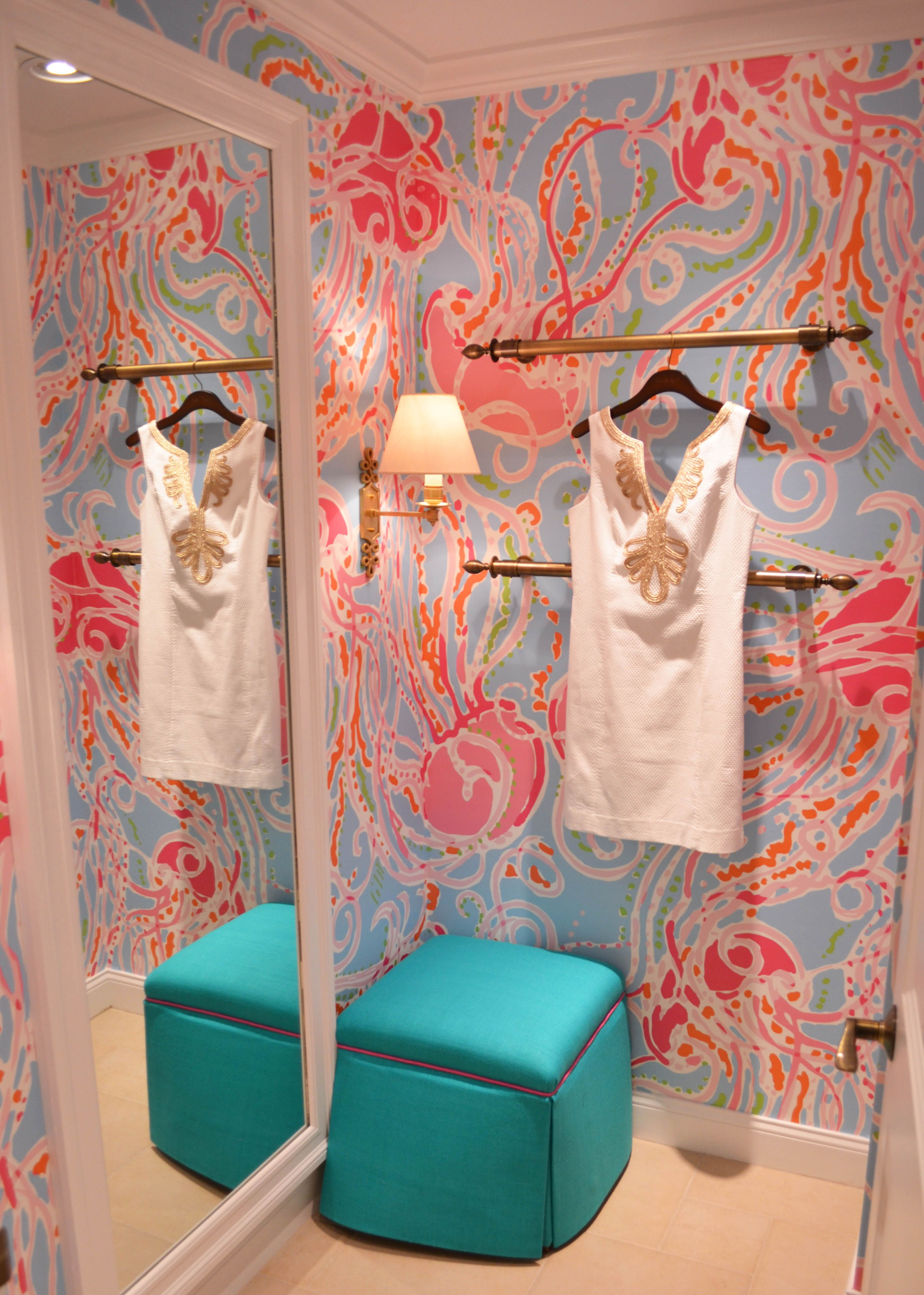 Explore Bathroom Mural, Pretty Wallpapers, And More! Lilly Pulitzer ...