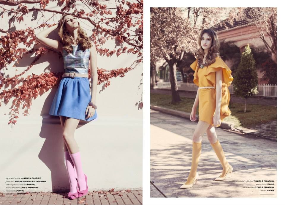 Editorial Reflex Mag Julio- Long Tall Sally (5 fotos) Valeria Markulin Photography St: Bel Amorosi