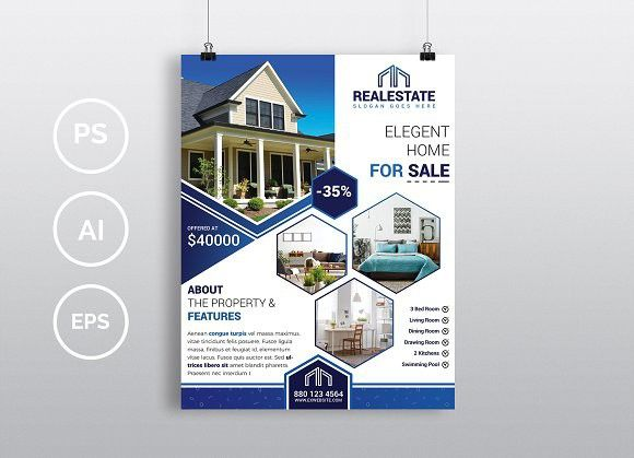 Real Estate Flyer Vol Brochure Infographic  Tips For Real
