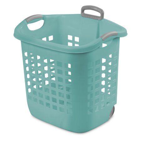Home Laundry Basket Laundry Basket On Wheels Sterilite