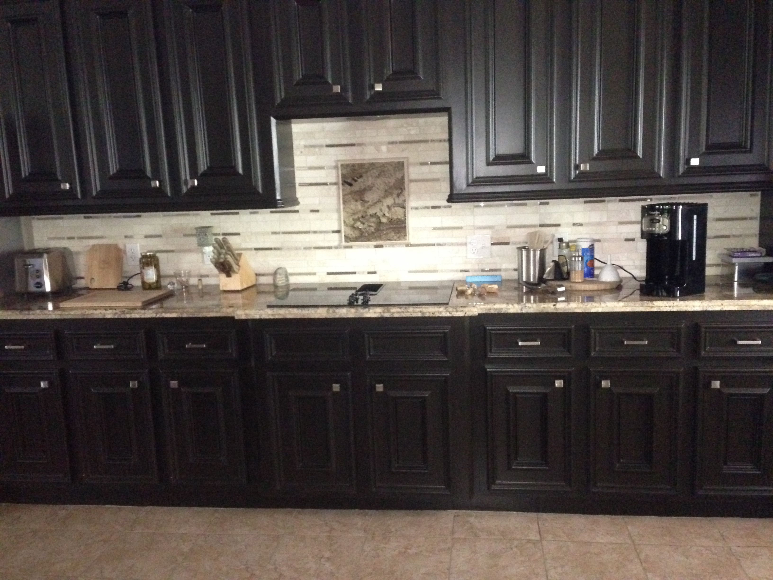 The once white cabinets were painted with bittersweet chocolate paint from benjamin moore and custom also best sealight designs images on pinterest bathroom remodeling