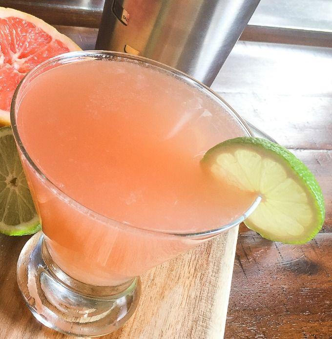 Grapefruit Martini Cocktail