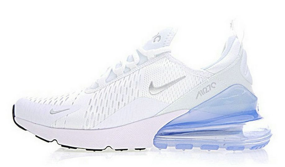 more photos 79007 78ca4 Nike Air Max 270 Whitie Iceblue Ah8050 100