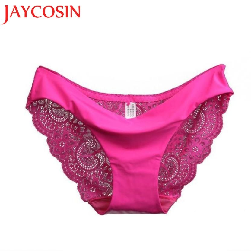 98a31d178ed AliExpress.com Product - SIF 2016 New arrival women s sexy lace panties  seamless panty Cotton Nylon briefs Woman underwear intimates free shipping  only US ...
