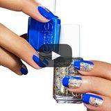 mod metal - nail art by essie looks
