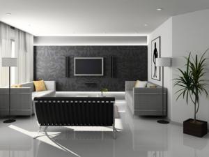 Salon : Quelles couleurs avec un carrelage noir ...