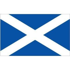 Scottish St Andrews Flag 5ft X 3ft Saltaire Saltaire Scottish Scotland