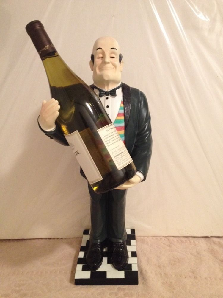 Bombay Company Henri Henry The Butler Wine Bottle Holder 20 Tall 2002 Wine Bottle Holders Bottle Holders Things To Sell
