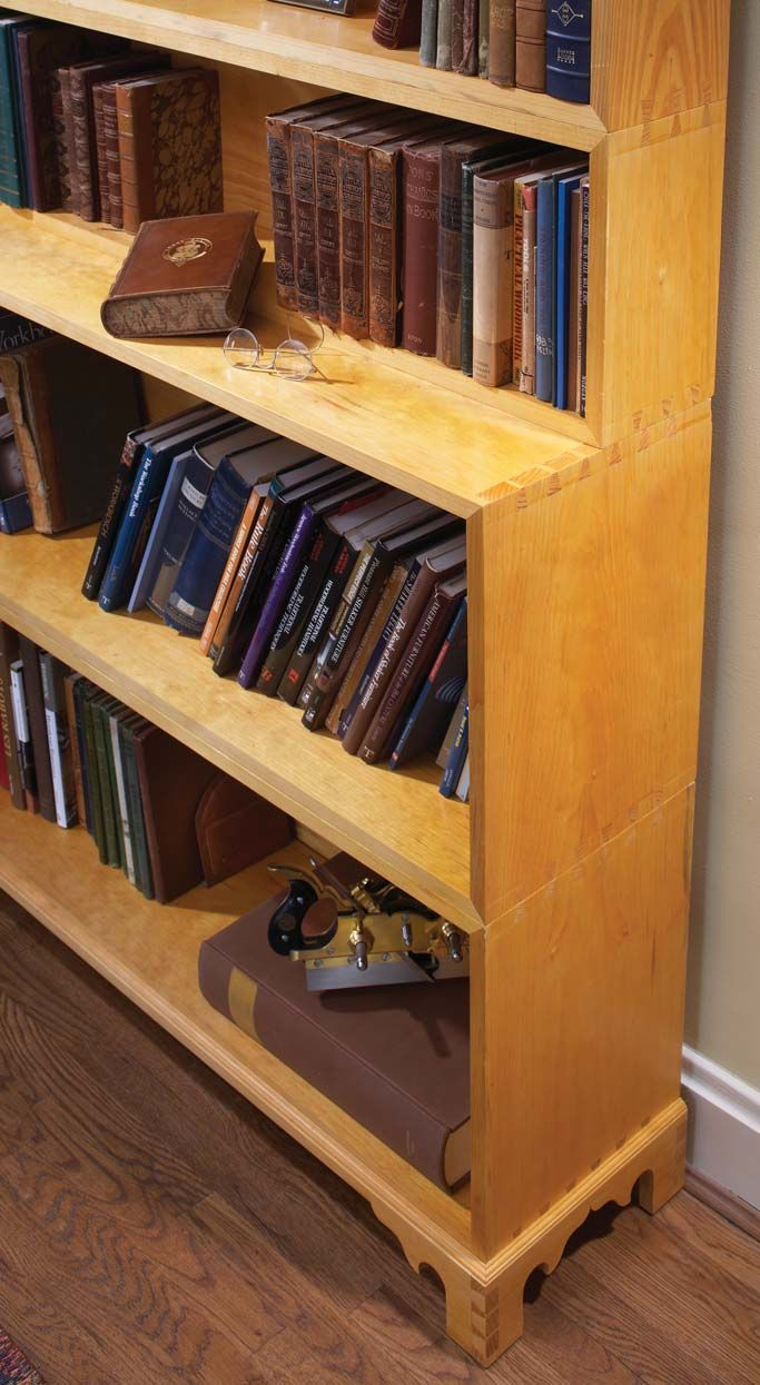 Monticello S Stacking Bookcases Popular Woodworking Magazine Bookcase Antique Shelves Simple Bookcase