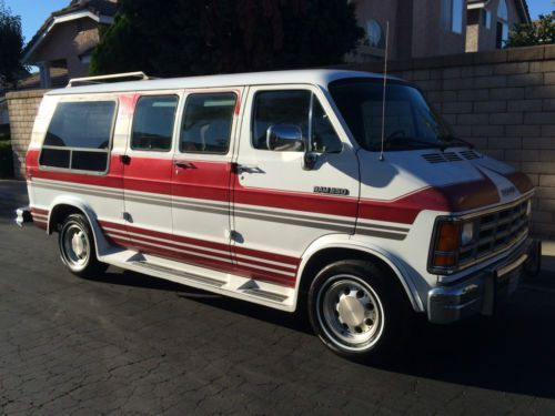 One Owner 1991 Dodge Ram Van Conversion With Full Service Records