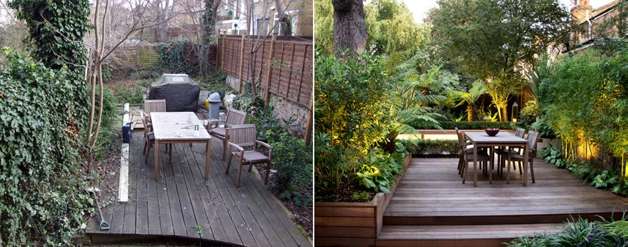 before and after gardens google search