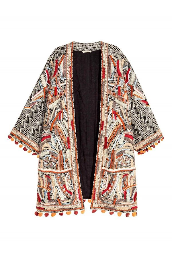 veste kimono h m manteaux vestes pinterest veste kimono vestes et manteau veste. Black Bedroom Furniture Sets. Home Design Ideas