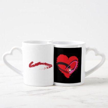 Love struck Couple Set Coffee Mug Set