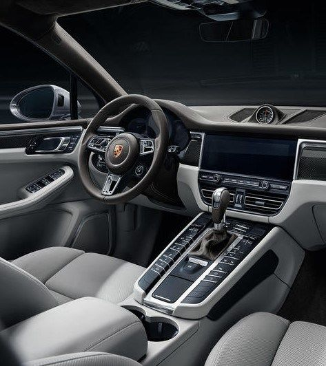 2019 Porsche Macan Turbo Cabin And Tool