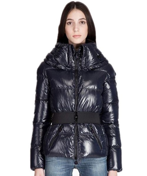 258afaf5f Moncler Aliso Designer Womens Down Jackets With Belt Brown   MOCL432 ...