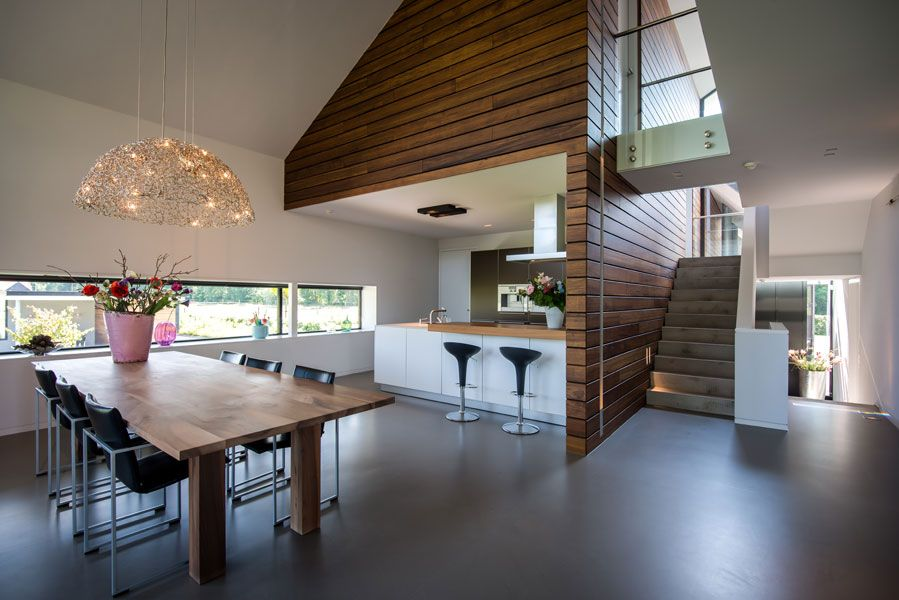 Villa Achterhoek Met Moderne Keuken Hoge Plafonds Veel