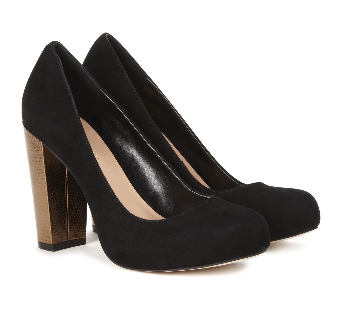Cute shoes, Chunky heel pumps, Heels