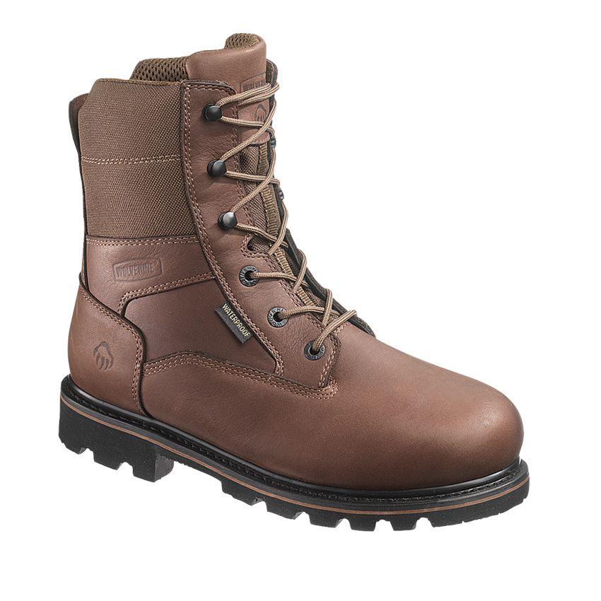 Wolverine Men's Novack Waterproof Composite Toe Work Boots