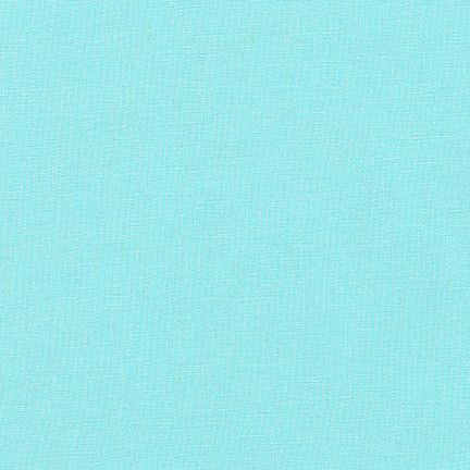 Robert Kaufman Essex Cotton Linen – Aqua E014-1005