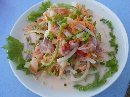 poisson cru à la tahitienne | recipe | tahiti, cuisine and food