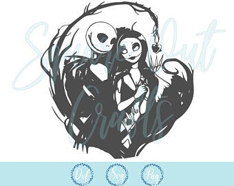 Nightmare before christmas svg Etsy (With images