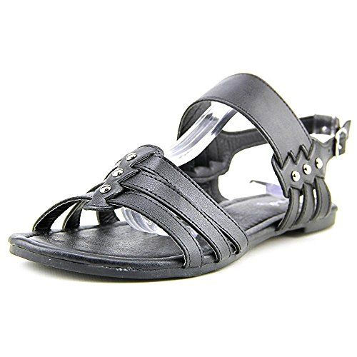 2a61a9dd4f4 Qupid Womens Jackie01 Sandal Black 6 M US ** This is an Amazon Affiliate  link. Check this awesome product by going to the link at the image.