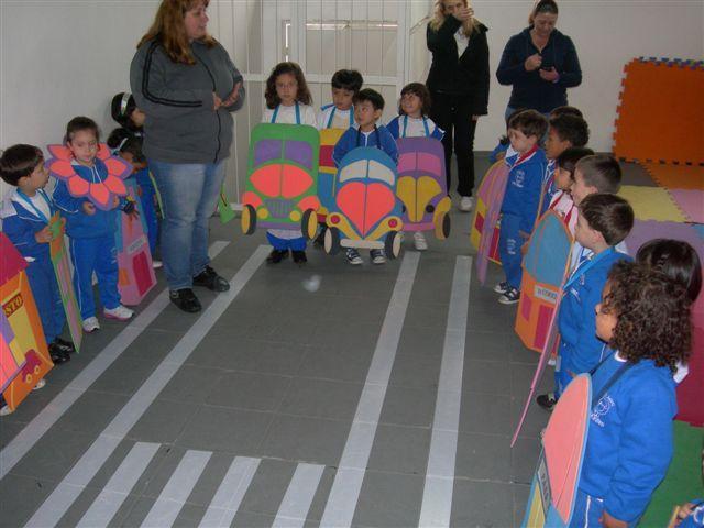 Famosos Projeto Trânsito na Cidade no Jardim 1 A e B - Instituto Infantil  WU61