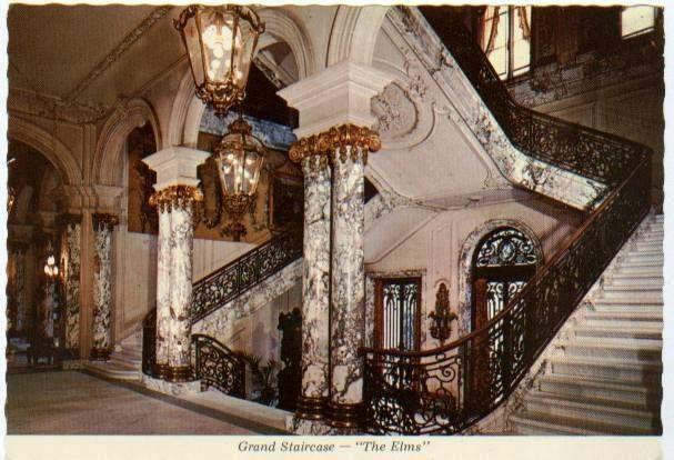 The elms mansion newport rhode island designed by architect horace trumbauer also rh pinterest