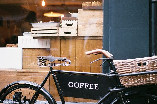Cofee Coffee Delivery Coffee Bike Coffee Shop