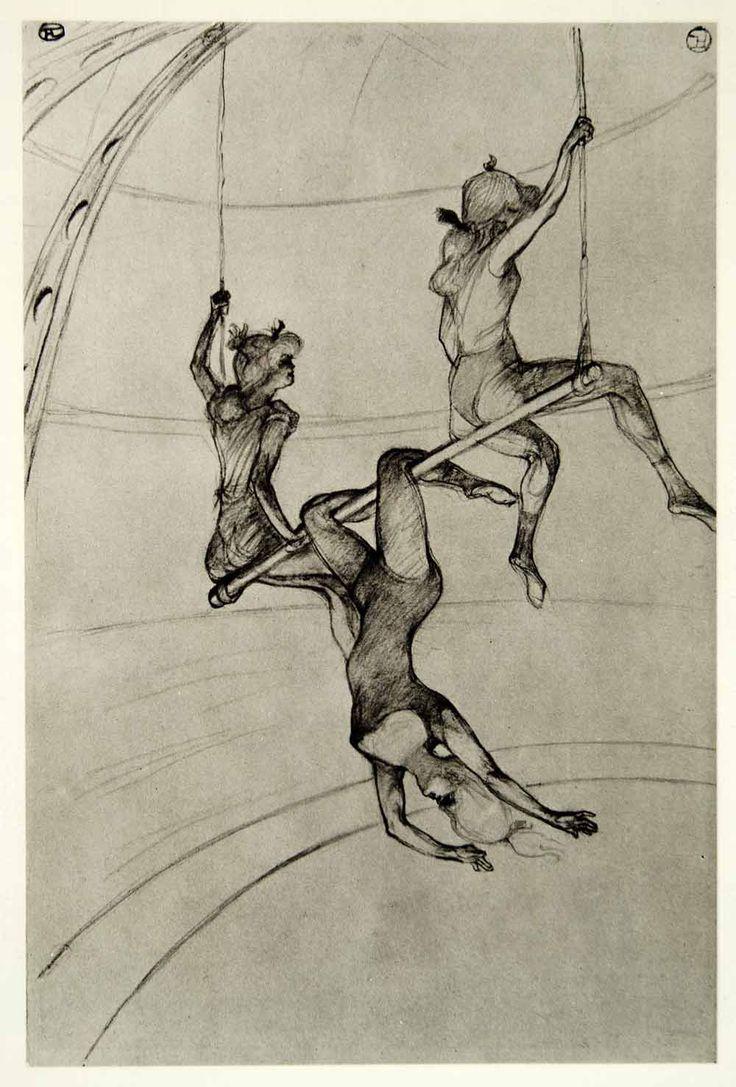 The Flying Trapeze Henri de Toulouse-Lautrec (1899)