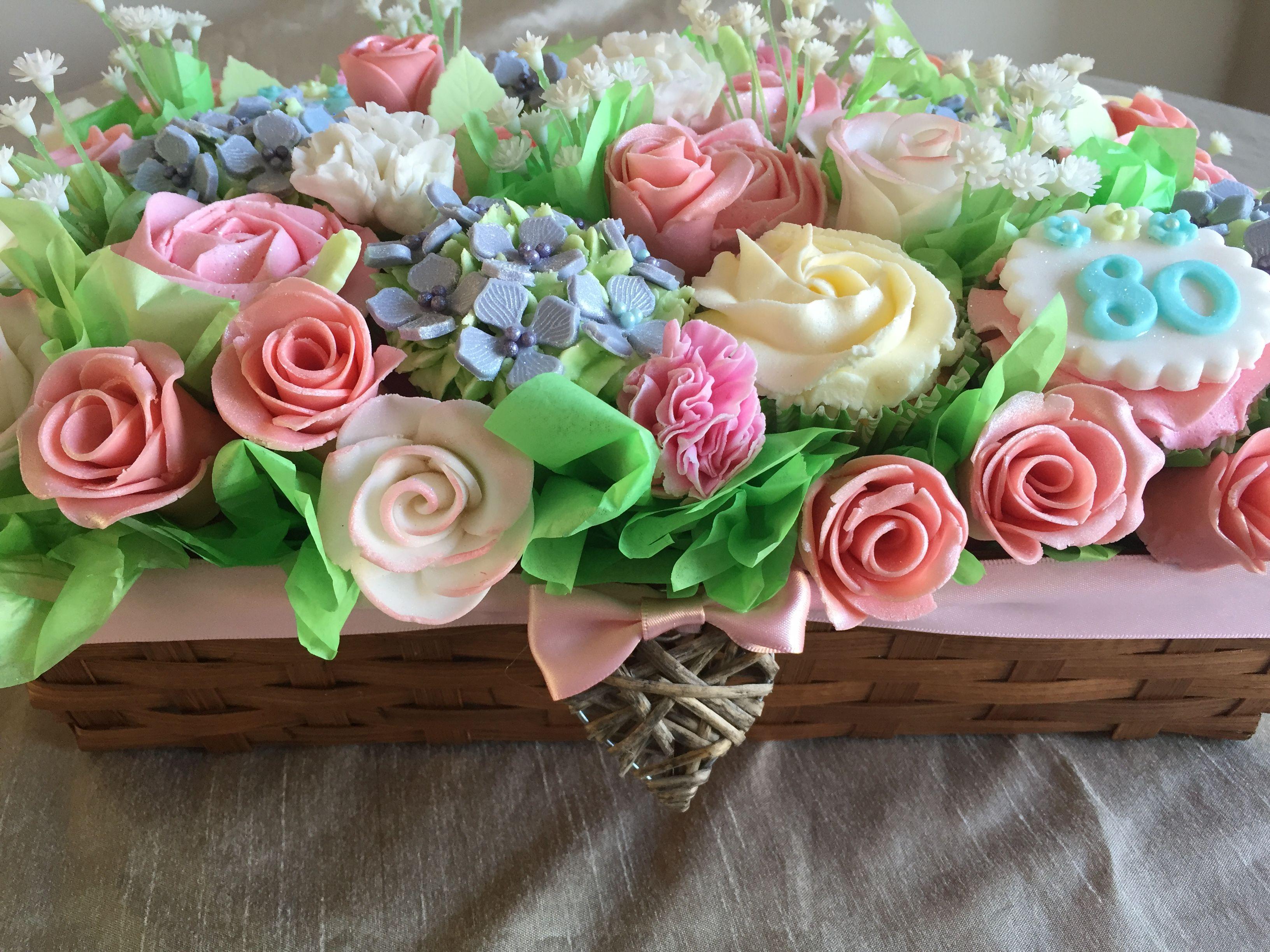 Beautiful Cupcake Bouquet  By Helen Akehurst Buttercups cup cake co