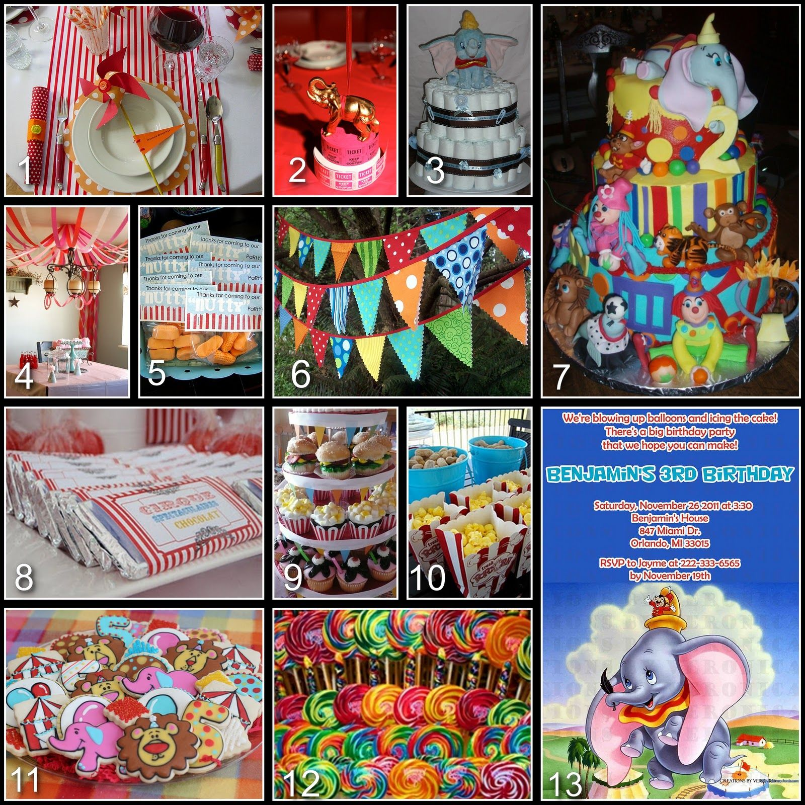 Disney Donna Kay Disney Party Board Dumbo Baby Shower Disney