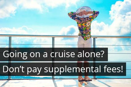 Going Solo On A Cruise Tips To Avoid Paying SingleOccupancy Fees - Solo cruises