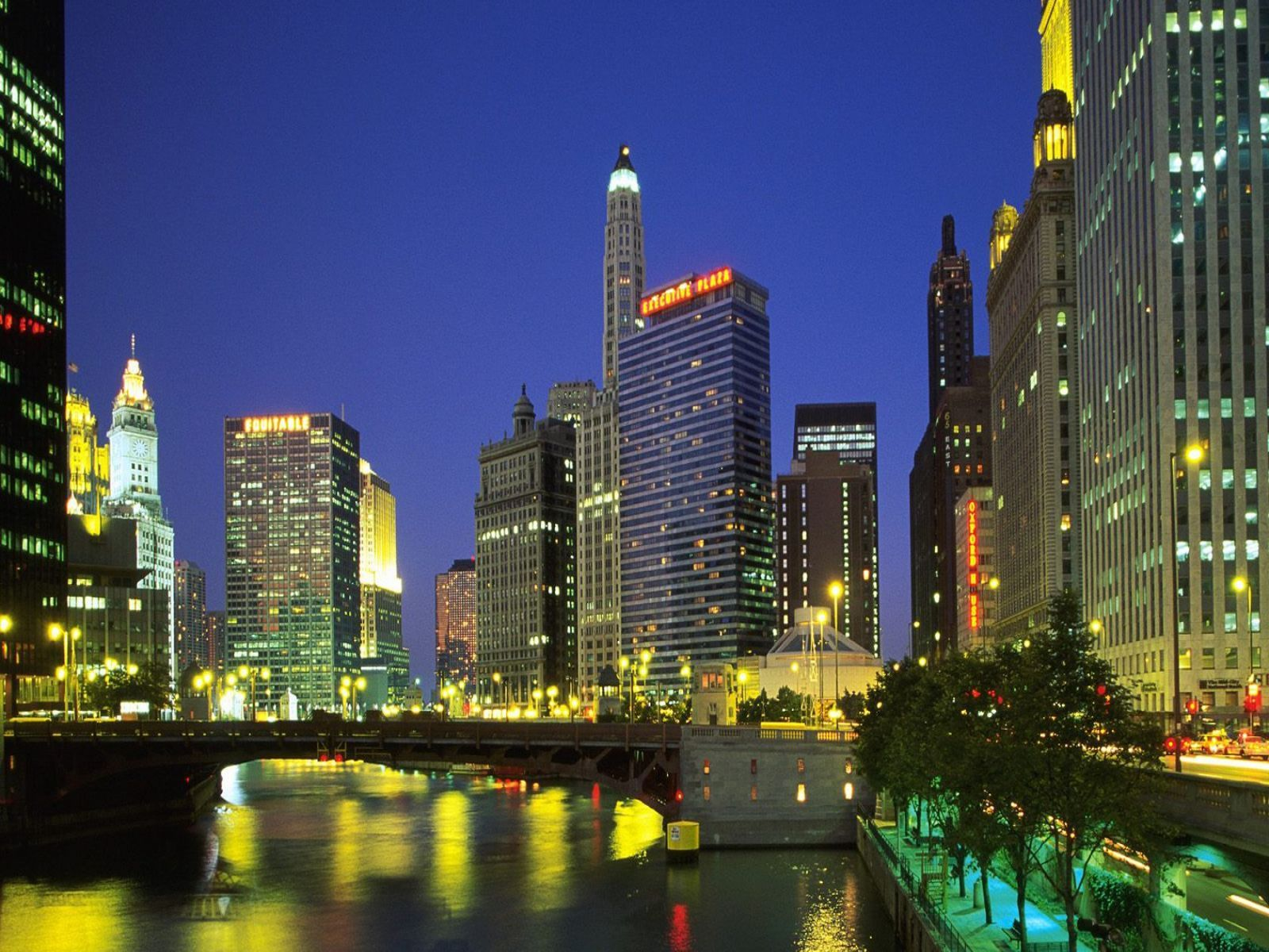 chicago bears Chicago Bears Downtown 1600x1200px