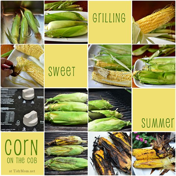 Grilled Corn @Cheryl Tidy Mom