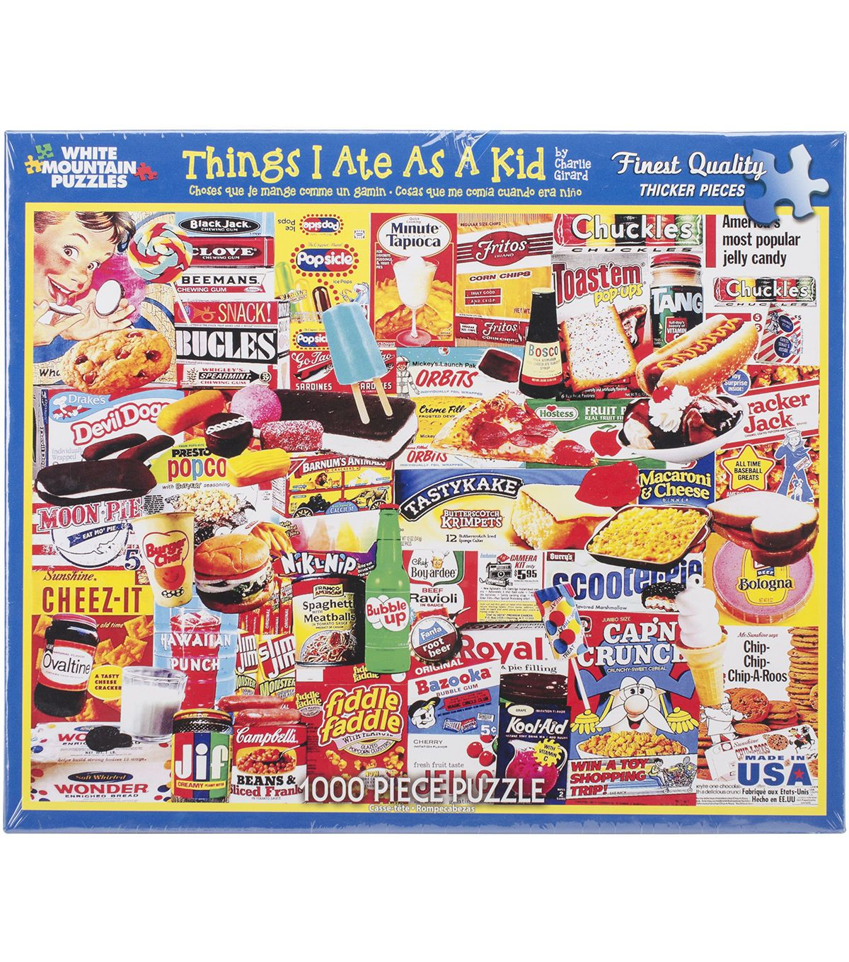 Puzzles 1000 Pk Things I Jigsaw Puzzle