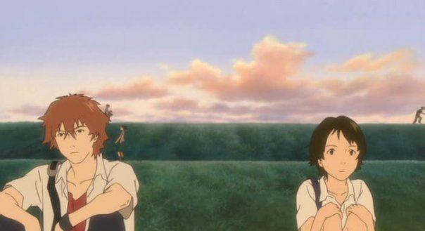 The Girl Who Leapt Through Time Movie Photo Makoto And Chiaki Anime Anime Films Anime Movies