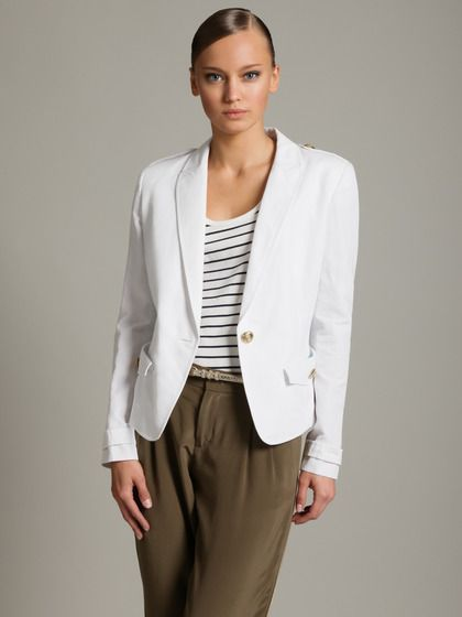 Cotton Linen Blazer by Emilio Pucci on Gilt