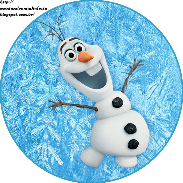 Montando minha festa Olaf Frozen uma aventura congelante frozen