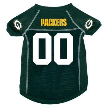 Green Bay Pakcers NFL Pet Jersey... Could they put Jordy's