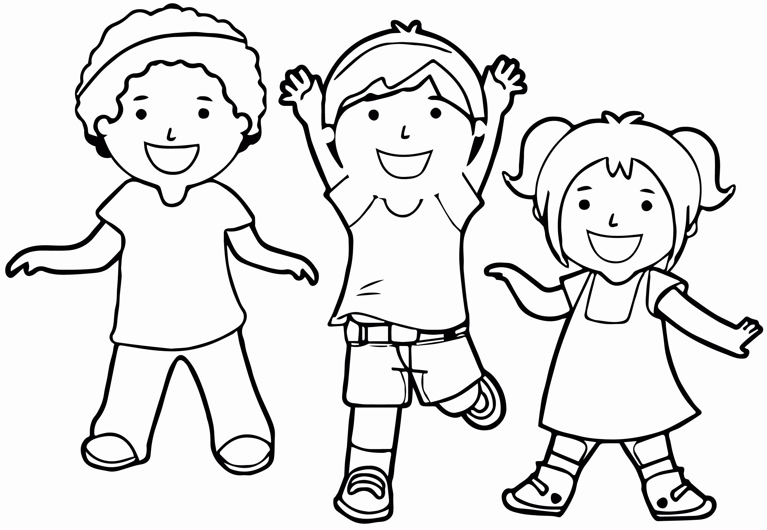 Kids Playing Coloring Pages In 2020 Coloring Pages For Boys