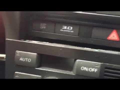 Comment Enlever Le Bloc Clim Sur Une Audi A6 C6 _ 4F - Youtube