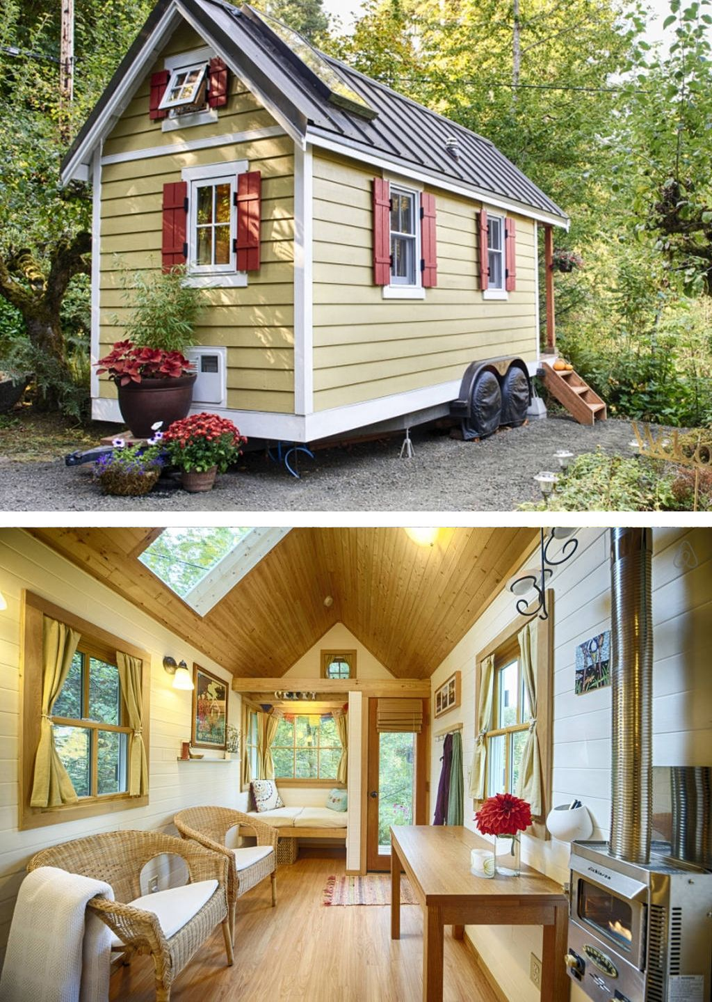 Tiny House w Private Beach Kayaks Tiny houses for Rent in Olympia Washington United States