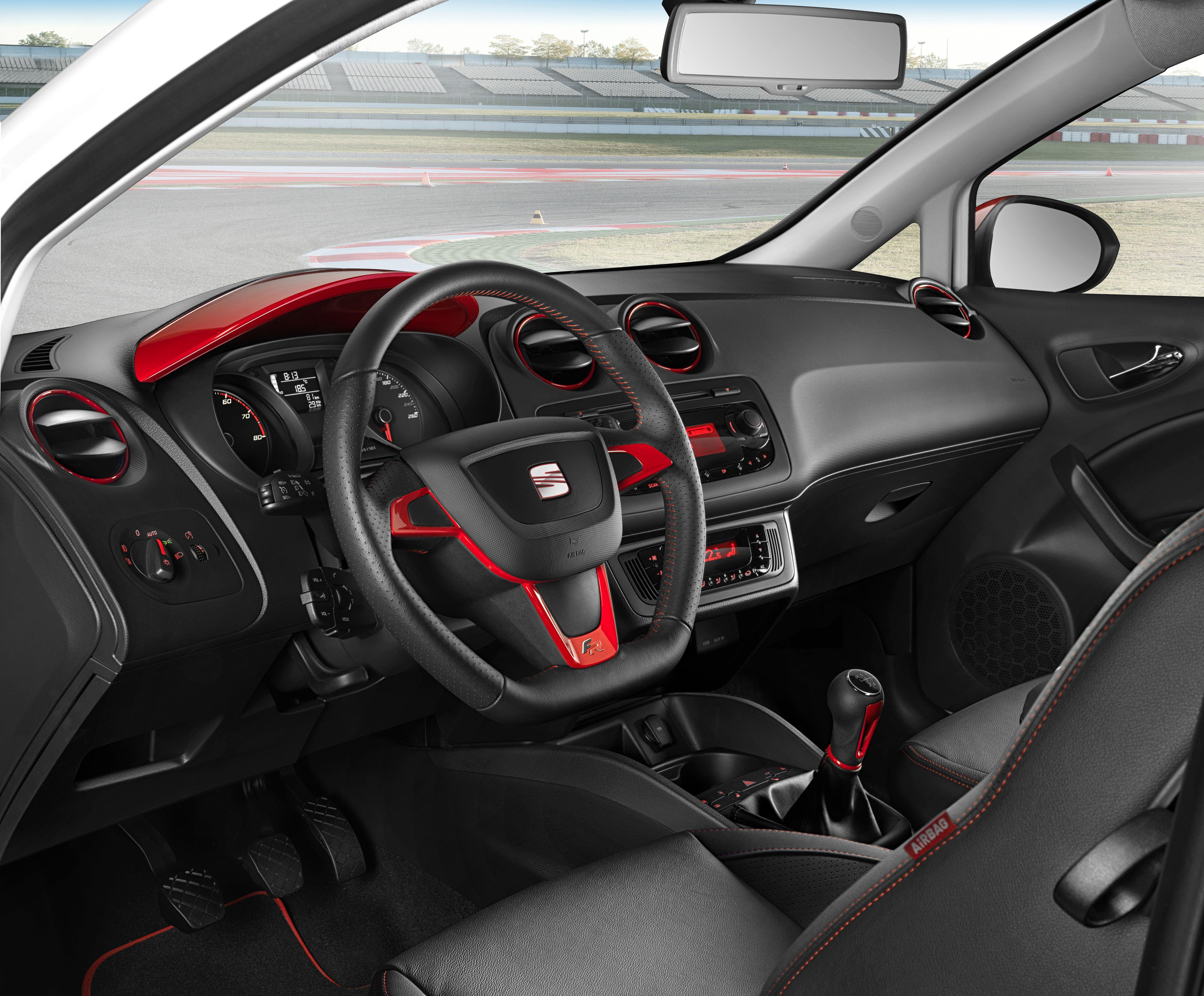 Seat ibiza fr seat pinterest voitures for Seat ibiza innenraum