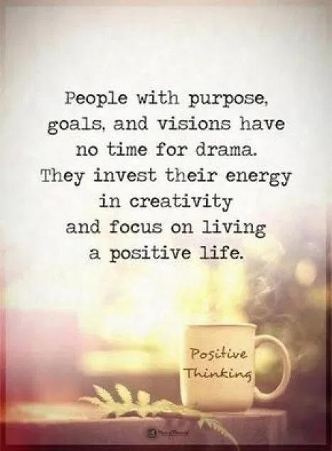 Purpose Goals and Vision Quote