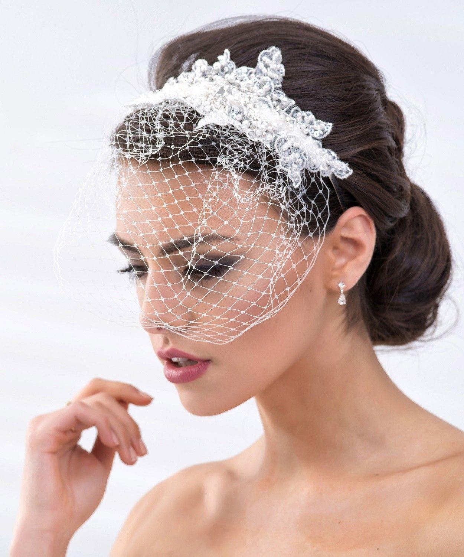 Couronne Fleurie Avec Voilette Veus De Noiva Casamento Dos Sonhos Acessorios Para Noivas