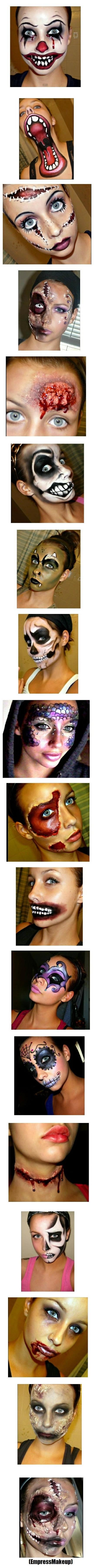 ultrarealistična šminka za maškare | norma | pinterest | halloween
